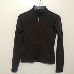 Lululemon fitted mock neck jacket
